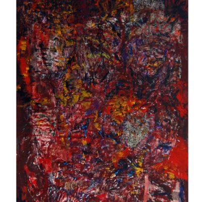 Informations, techniques mixtes sur toile 100 x 160 cm, 2005 à 2007