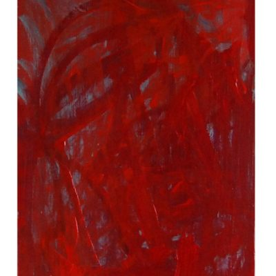 Sans titre, techniques mixtes sur bois 50 x 80 cm, 2006