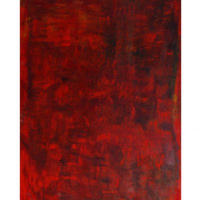 Souvenirs, techniques mixtes sur toile 80 x 110 cm, 2007