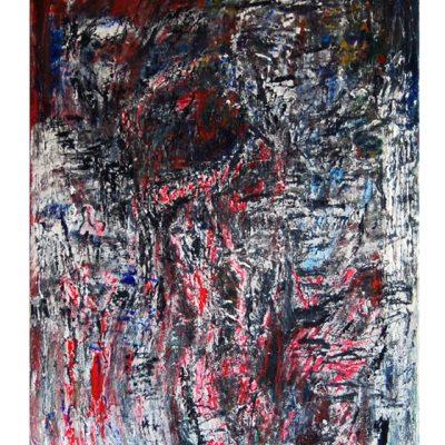 Visions, techniques mixtes sur toile 70 x 100 cm, 2006-2007
